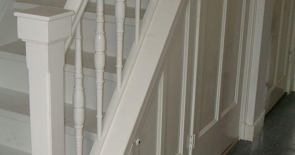 Mooie trap in jaren 30 stijl met opbergruimte  Jaren 30  Pinterest ...
