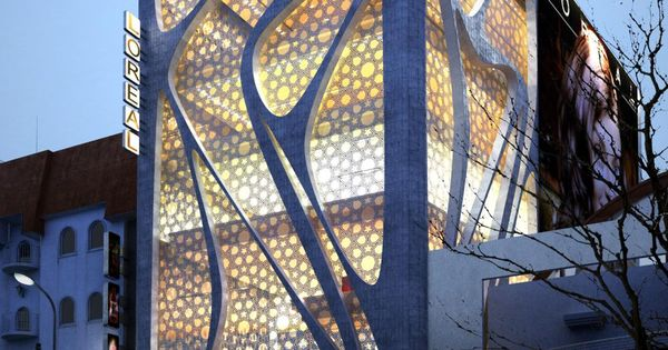 Nova L' Oreal Office Building por IAMZ Design Studio, arquitetura moderna de