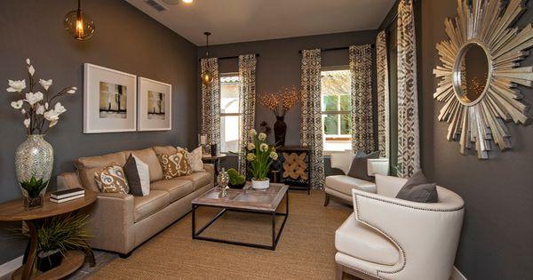 20 Gorgeous Living Room Furniture Arrangements - smalllivingroom grayroom whitefurniture