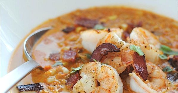 Smoky Corn Chowder with Shrimp ... n other delicious soup recipes...