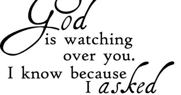 God Is My Friend Quotes | ASKED Him to.. Beautiful quote. I