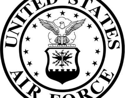 United States Air Force Clipart Clipart Kid MilitaryU.s. Air Force Logo Black And White