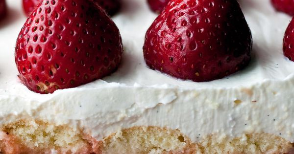 Berry Mascarpone Ladyfinger Layer Cake