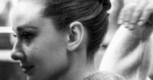 Audrey Hepburn -Beautiful updo