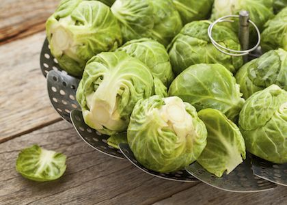 Mustard Braised Brussels Sprouts – Veggie Dish   Recipe   Sprouts ...