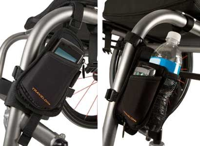 Water Bottle And Cell Phone Holder With Images Cell Phone Holder Wheelchair Accessories Phone Holder