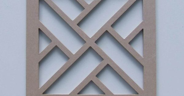 Unfinished Chippendale Panel Wall Panels Pinterest