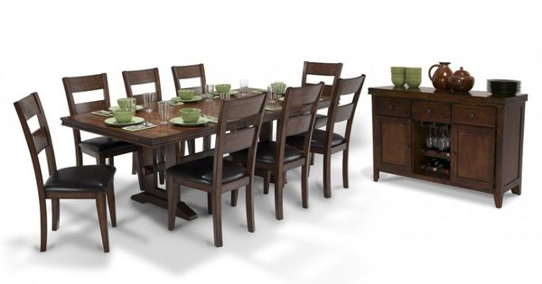 Enormous Dining 10 Piece Set | Dining Room Sets | Dining