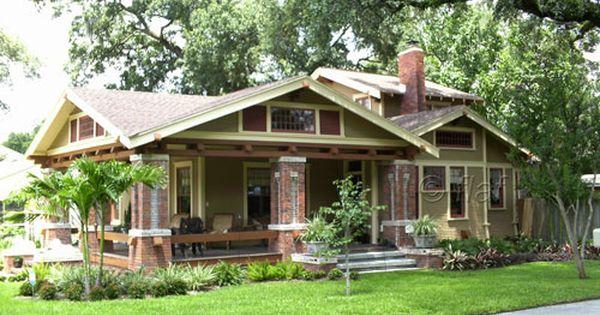 Bungalow Style Homes Bungalow Paint Schemes And Color