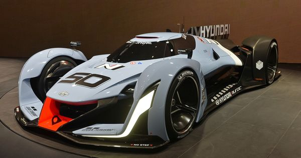 hyundai n 2025 vision gran turismo concept looks ready for le mans technology for less and tech. Black Bedroom Furniture Sets. Home Design Ideas