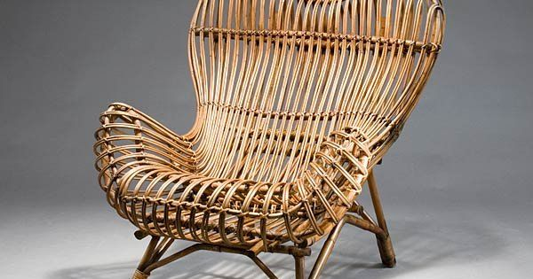 Franco Albini, Gala easy chair for Vittorio Bonacina, 1951. available from propertyfurniture.com