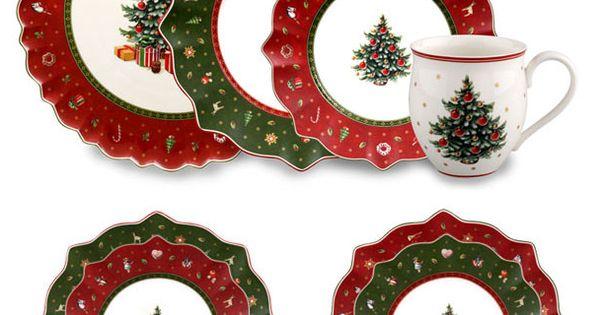 Villeroy boch toy 39 s delight kerstservies kerstservies - Villeroy boch vajillas ...