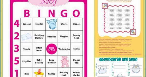 para baby shower printable baby shower games in spanish baby shower