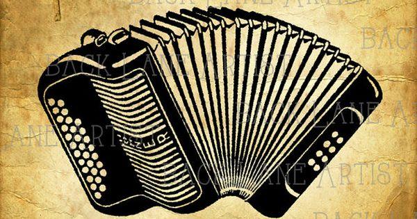 vintage hohner accordion musical instrument by backlaneartist backlaneartist pinterest. Black Bedroom Furniture Sets. Home Design Ideas