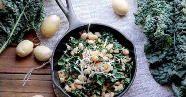 Bean kale hash