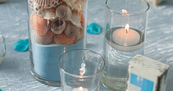 Beach Wedding Centerpiece Idea