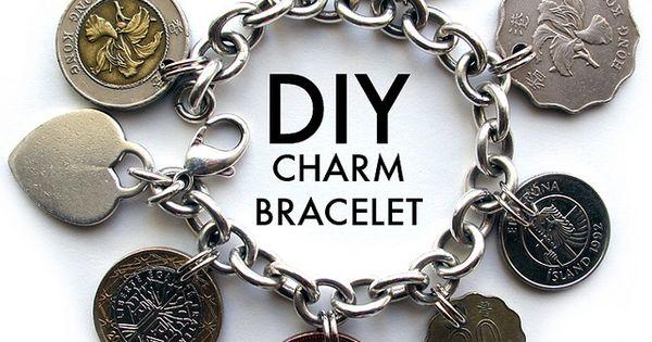 DIY Charm Bracelet Idea