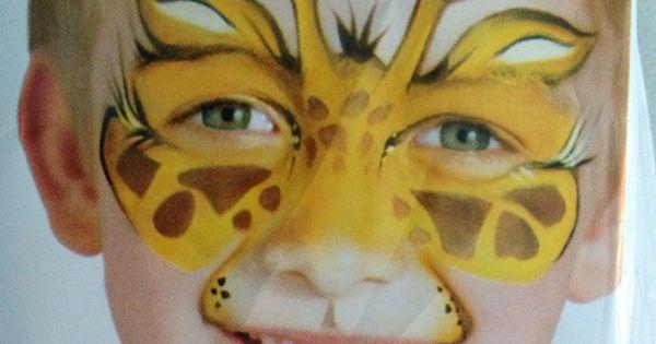 Giraffe make up | Malowanie twarzy | Pinterest | Animals ...
