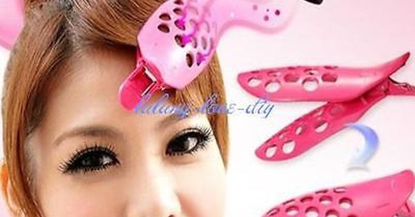 Pastel  Orange 24 pcs Hair snap clips size 50mm for Girl