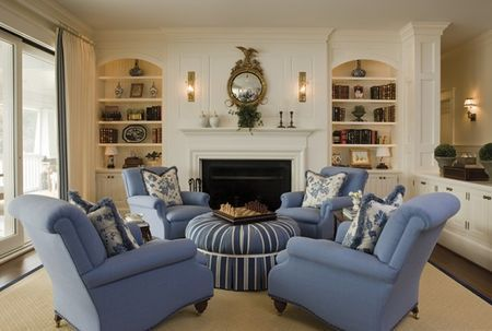 A Passion For Home Four Chairs A Dry Bar Part Ii Fireplace Seating Living Room Seating Living Room Furniture Arrangement