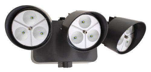 Lithonia Oflr 9ln 120 P Bz Led Outdoor 3 Light Floodlight With Dusk To Dawn Photocell Black Bronze Lithonia Http Www Amazon Com Dp B00f9wogd6 Ref Cm Sw R Pi