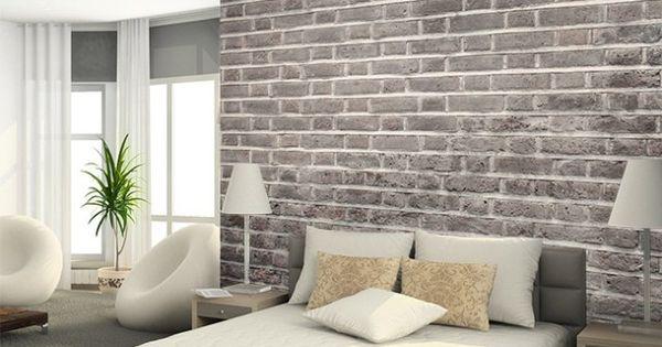 Papier peint trompe l il 33 id es pour embellir maison inspiration d coration et maison Tapisserie originale chambre