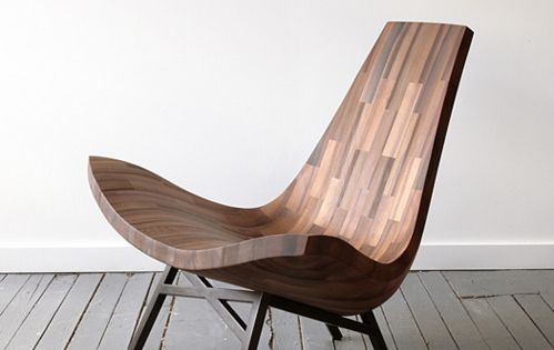 Natural Wooden Chair Made of Reclaimed Timbers – Water Tower Chair |