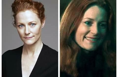 Happy Birthday Geraldine Somerville Who Portrayed Lily Potter In The Harry Potter Films Lily Potter British Actresses Harry Potter Films