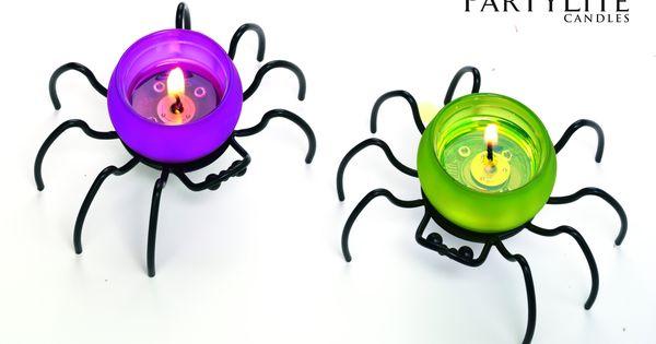 porte bougie r chaud itzy bitzy p91355 partylite halloween araignee partylite. Black Bedroom Furniture Sets. Home Design Ideas