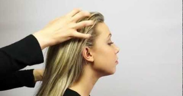how to give a scalp massage