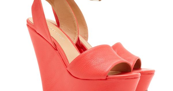 Coral wedges - to go with my coral / peach dress ;)