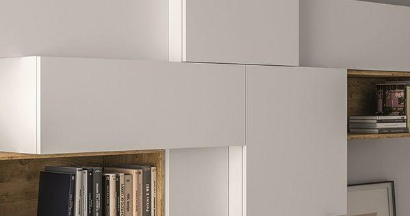 ensemble mural composable laqu e salons pinterest meubles rangement et salon. Black Bedroom Furniture Sets. Home Design Ideas