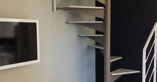 Moon scala a chiocciola in ferro design moderno e for Scala a chiocciola di 5 piedi