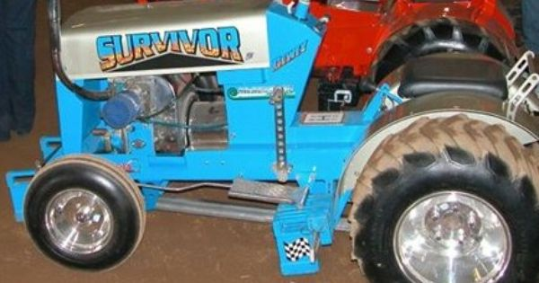 Power Wheels Tractor Pull : Tractor pulls survivor is my bf s sister and i