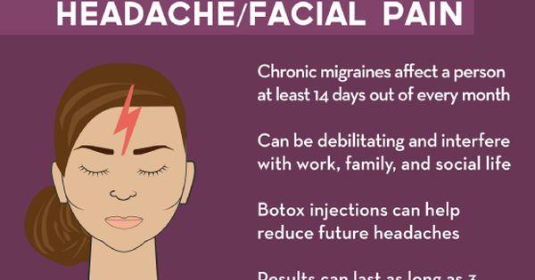 can facial fillers cause headaches