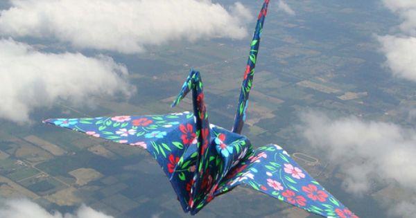 ORIGAMI bird sky