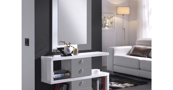 meuble d 39 entr e design eva atylia commode entree. Black Bedroom Furniture Sets. Home Design Ideas