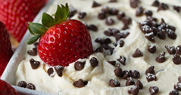 Cannoli Dip - Pair with fruit for a sweet treat