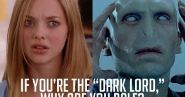 Harry Potter and Mean Girls quotes mesh, classic.