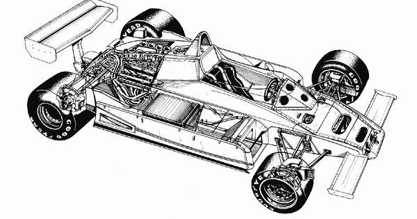 Brabham Bt50 1981 82 Cutaway Pinterest Technical