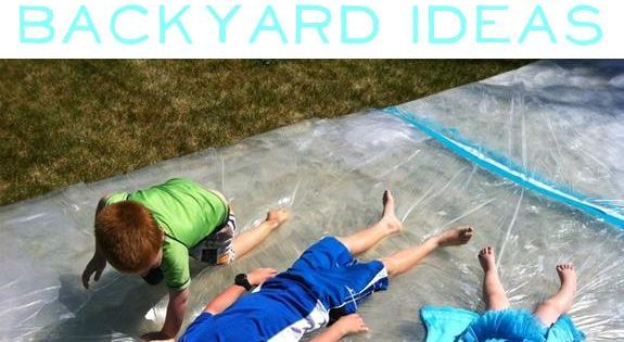 Lots of fun ideas 32 Cheap And Easy Backyard Ideas That Are