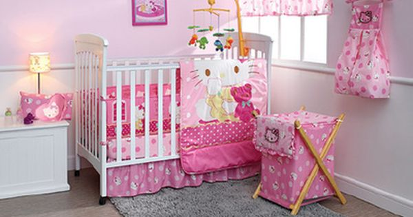 Hello Kitty Nursery Bedding 79 95 For The Bedroom