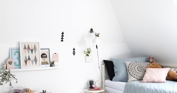 das hippie tipi kinderzimmer f r emma hemnes tagesbett. Black Bedroom Furniture Sets. Home Design Ideas