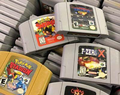 N64 Games Just In Starting At 5 N64 Games Arcade Game Room Game Sales