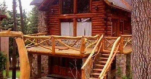 Casas r sticas de madera y piedra pinteres - Casas de madera y piedra ...
