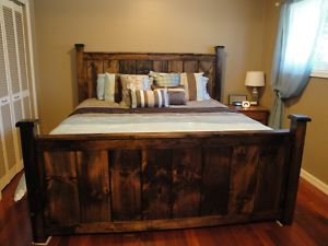 Rustic Beds Custom Made Hand Crafted Ottawa Furniture For Sale