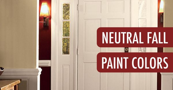Love this entryway make over your foyer with a neutral for Neutral red paint colors