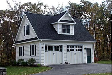 Garage Plan Chp 40827 At Coolhouseplans Com Garage Loft 2 Car Garage Plans Garage Design