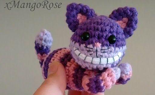 Cheshire Cat made by Sandra Grabowski | For pattern visit ka… | Flickr | 315x512