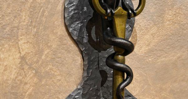 Door custom medieval castle doors ced422 door for Custom made door knockers
